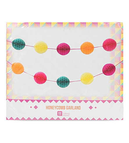 TALKING TABLES Fiesta honeycomb garlands 5m