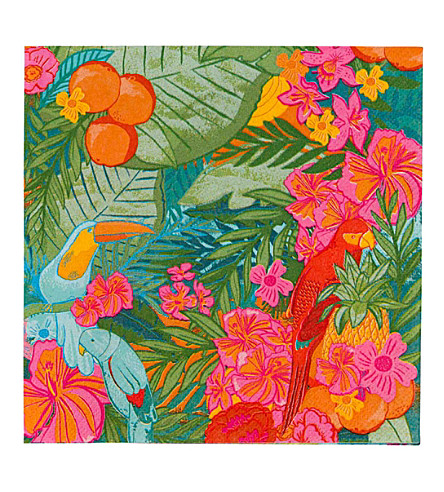 TALKING TABLES Tropical Fiesta paper napkins