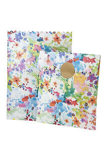 TALKING TABLES Pack of 10 Floral Fiesta treat bags
