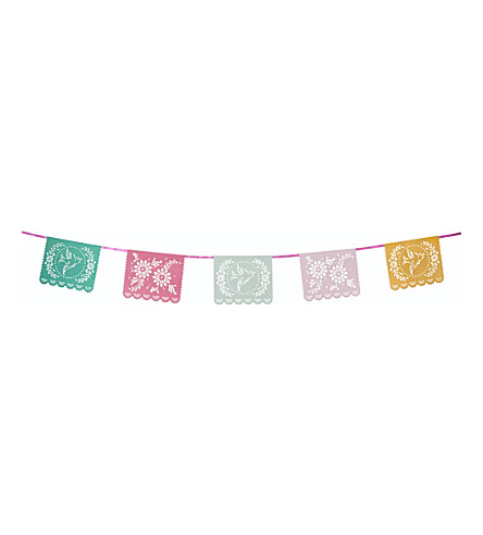 TALKING TABLES Mexicana Floral Fiesta bunting 4m