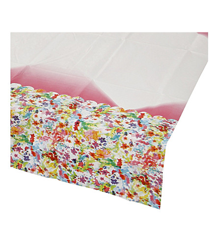 TALKING TABLES Floral Fiesta paper table cover
