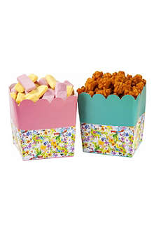TALKING TABLES Pack of six Floral Fiesta treat holders