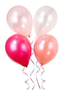 TALKING TABLES Pink balloons set of four