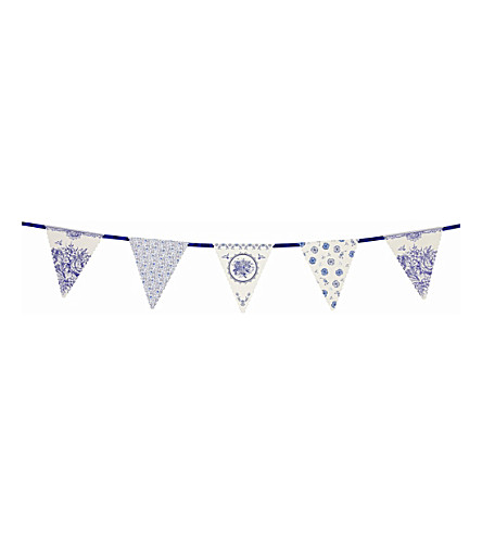 TALKING TABLES Party Porcelain bunting 4m