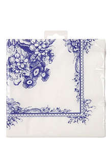 TALKING TABLES Party Porcelain pack of 20 paper napkins