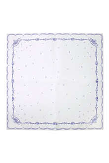 TALKING TABLES Party Porcelain square table cover