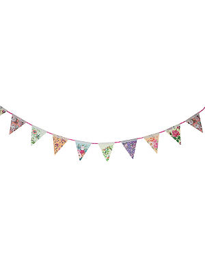 TALKING TABLES Floral paper bunting