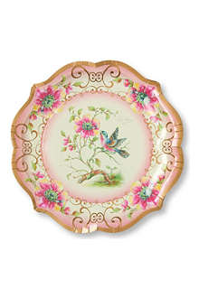TALKING TABLES Large paper serving plates