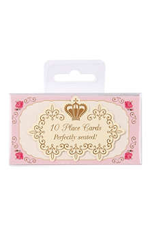 TALKING TABLES Pack of ten Truly Scrumptious place cards