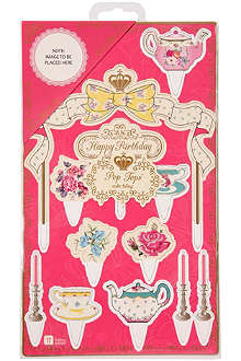TALKING TABLES Truly Scrumptious cake toppers
