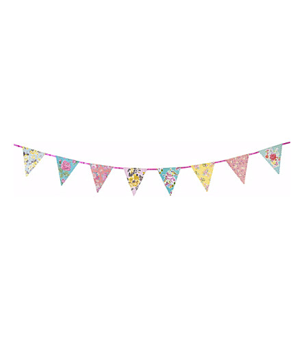 TALKING TABLES Charming Chintz paper bunting 4m