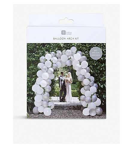 TALKING TABLES Wedding balloon arch kit