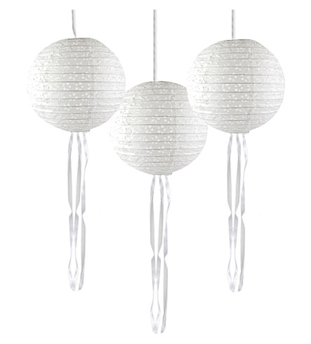 TALKING TABLES Modern Romance Paper Lanterns