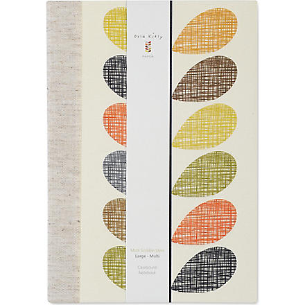 ORLA KIELY Casebound large notebook