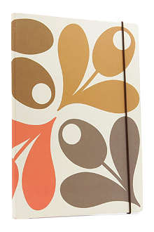 ORLA KIELY Acorn Cup Perfect Bound A4 notebook
