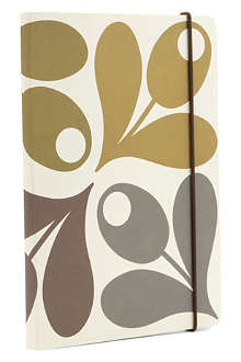 ORLA KIELY Acorn Cup A5 Perfect Bound notebook