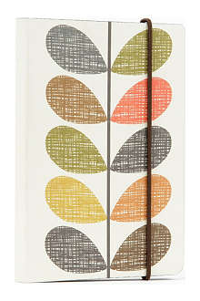 ORLA KIELY Scribble Stem A6 Perfect Bound notebook