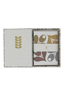 ORLA KIELY Acorn Cup set of 15 notecards