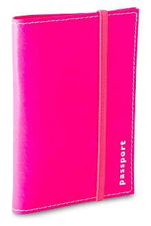 UNDER COVER Leather passport holder