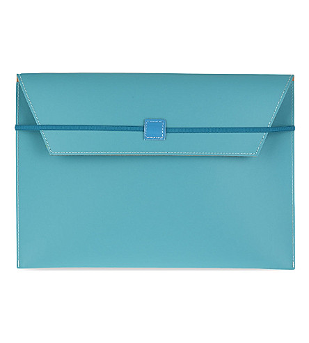 UNDER COVER Leather A4 document envelope