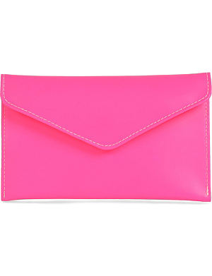 UNDER COVER Leather envelope case