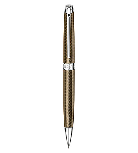 CARAN D'ACHE Léman Caviar silver-plated mechanical pencil