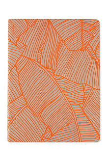 NUUNA Orange banana leaves graphic notebook