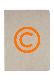 NUUNA Orange copyright notebook