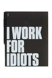 NUUNA I work for idiots notepad