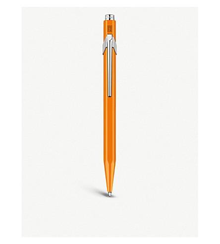 CARAN D'ACHE Caran d'Ache 849 ballpoint metal pen fluo orange