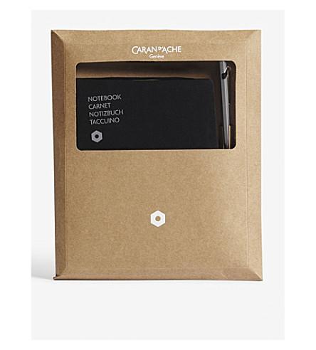 CARAN D'ACHE 849 ballpoint pen & office A5 notebook set
