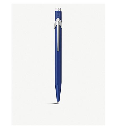CARAN D'ACHE Caran d'Ache 849 ballpoint metal sapphire blue