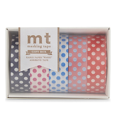 MT TAPE mt washi pop art masking tape set of five rolls
