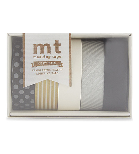 MT TAPE mt washi monotone masking tape set of five rolls