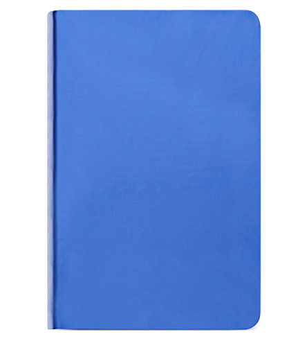 NUUNA Shiny starlet high-gloss metallic blue notebook