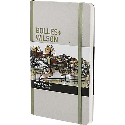 MOLESKINE Bolles and Wilson Inspiration and Processes in Architecture