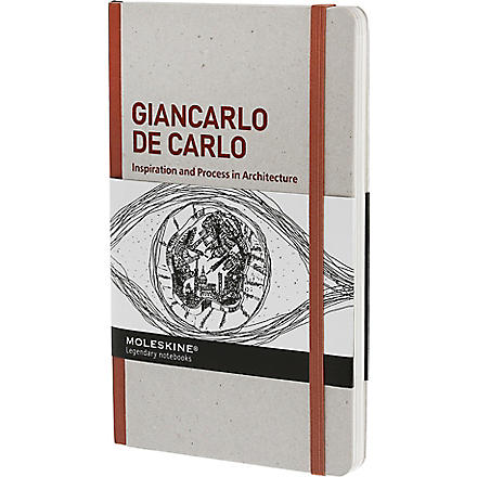 MOLESKINE Giancarlo De Carlo Inspiration and Processes in Architecture