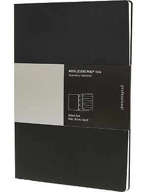 MOLESKINE Folio Professional ruled  A4 pad