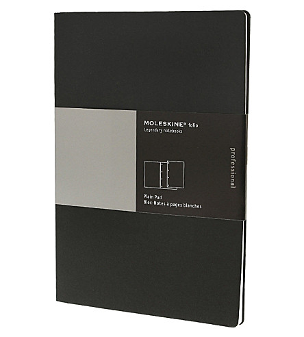 MOLESKINE Folio Professional plain A4 pad