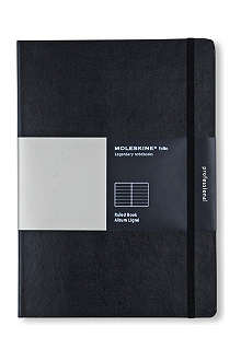 MOLESKINE A4 folio ruled notebook