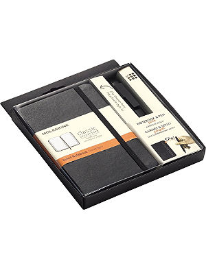 MOLESKINE Pocket Classic notebook and rollerball pen 07 set