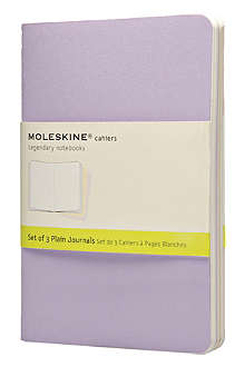 MOLESKINE Cahier set of three notebooks