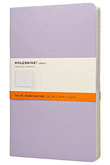 MOLESKINE Pastel cahier journal notebook set