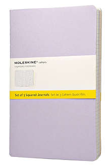 MOLESKINE Cahier set of three lined notebooks