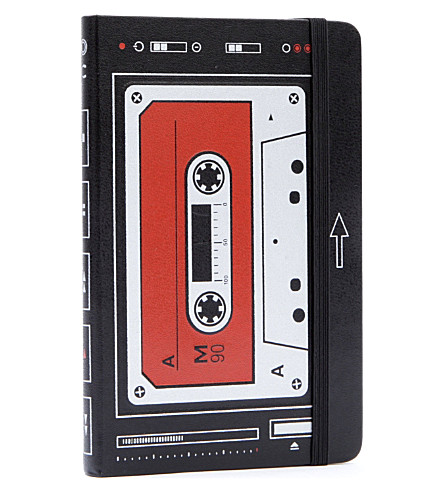 MOLESKINE Le Audiocassette ruled pocket notebook