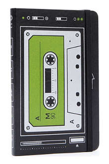 MOLESKINE Le Audiocassette plain pocket notebook
