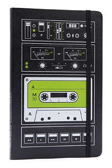 MOLESKINE Le Audiocassette plain large notebook