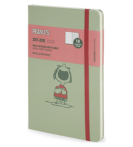 MOLESKINE Peanuts week-to-view 18 months diary