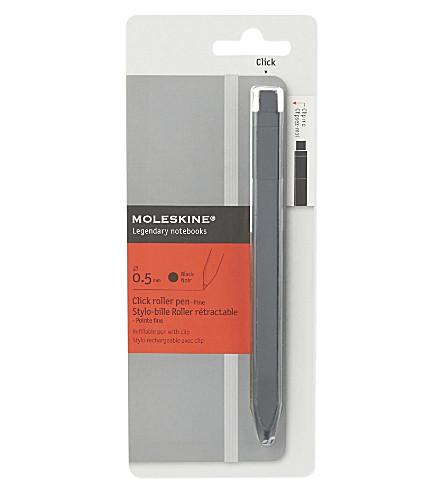MOLESKINE Click roller pen fine 0.5