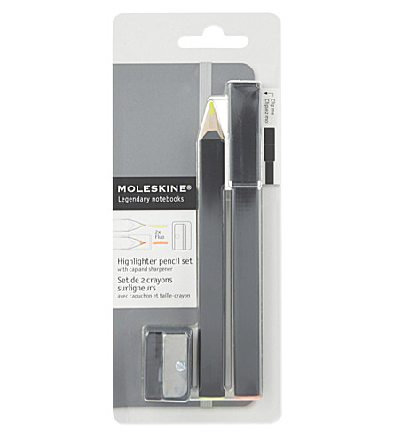 MOLESKINE Highlighter pencil set